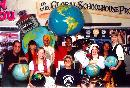 Global greetings from Yvonne Andres and students.